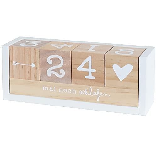 Odernichtoderdoch Countdown Holzwürfel 4 Zahlen - 2 Themenleisten