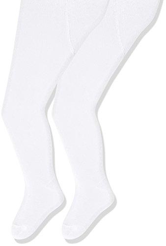 Sterntaler Doppelpack Strumpfhose für Babys, Alter: 0-2 Monate, Größe: 56, Weiß