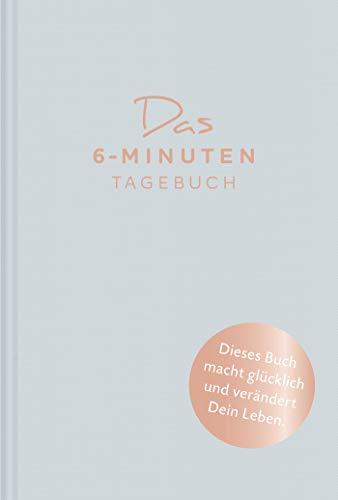 Das 6-Minuten-Tagebuch (aquarellblau): Ein Buch, das dein Leben verändert