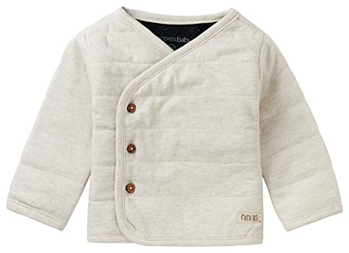 Noppies Baby-Unisex U Cardigan LS Hendrina Strickjacke, RAS1202 Oatmeal-P611, 80