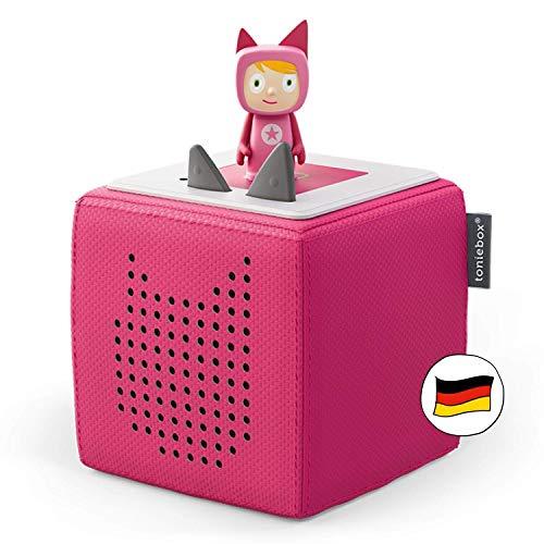 Toniebox Starterset in Pink: Toniebox + Kreativ-Tonie - Der tragbare Lautsprecher für Tonies Hörfiguren und Kreativ Tonies - Für Kinder ab 3 Jahren - DEUTSCH