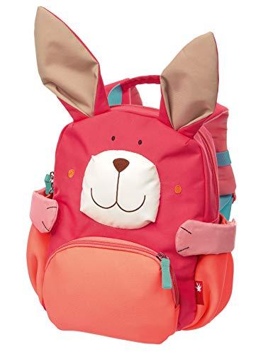 SIGIKID 24921 Rucksack Hase Bags Mädchen und Jungen Kinderrucksack empfohlen ab 2 Jahren rosa