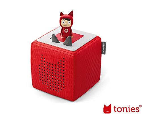 Toniebox Starterset Rot mit Kreativ-Tonie