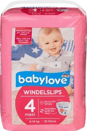 babylove Pants Windelslips Größe 4, maxi 8-15kg, 1 x 22 St