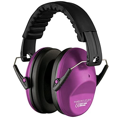 Vanderfields Lärmschutz Kopfhörer Kinder - Gehörschutz Kapselgehörschutz Schutzkopfhörer