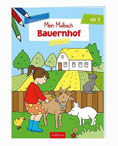 Malbuch ab 3 Jahren - Bauernhof