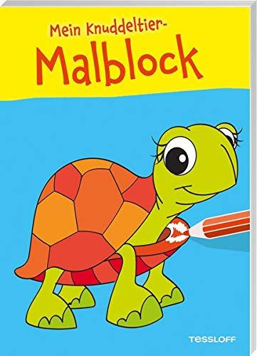 Mein Knuddeltier-Malblock (Schildkröte) (Malbücher und -blöcke)