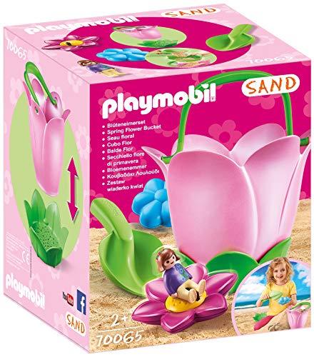 PLAYMOBIL Sand 70065 Sandeimerchen 'Frühlingsblume', Ab 2 Jahren