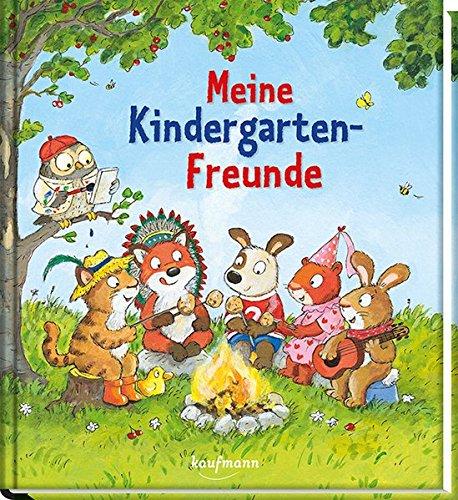 Meine Kindergarten-Freunde: Tiere (Freundebücher für den Kindergarten / Meine Kindergarten-Freunde für Mädchen und Jungen)