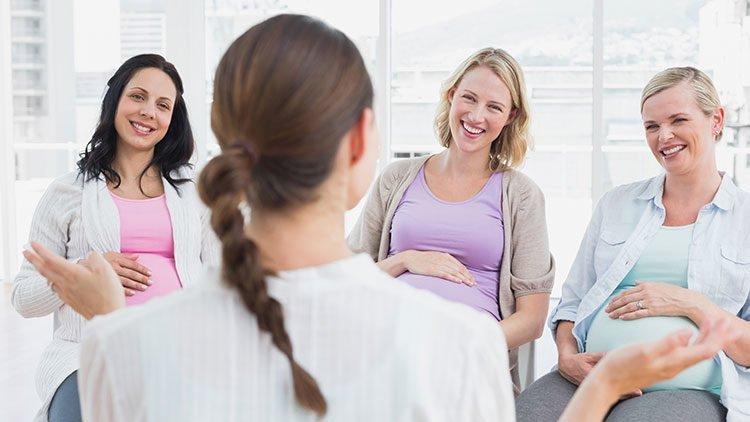 Der Infoabend im Krankenhaus für Schwangere