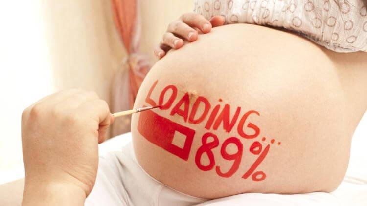 55 Ideen für tolle Babybauch Fotos