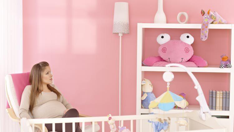 Susse Gestaltungsideen Fur Ein Babyzimmer Fur Madchen Liebe Zum Baby