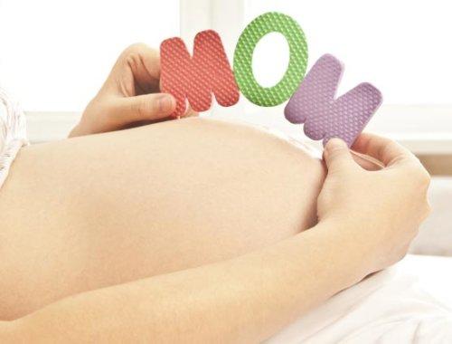 Wenn sich das Baby im Bauch bewegt