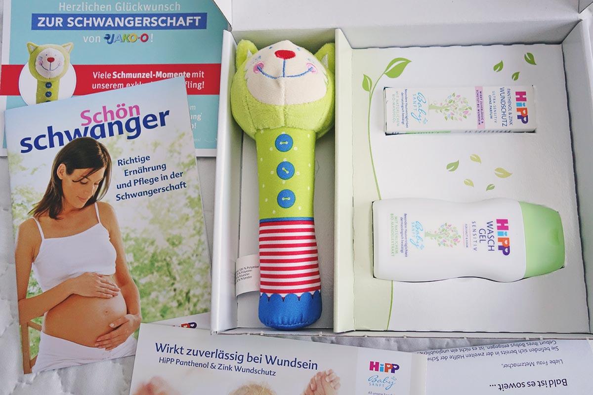 Inhalt vom HiPP Babyclub Paket