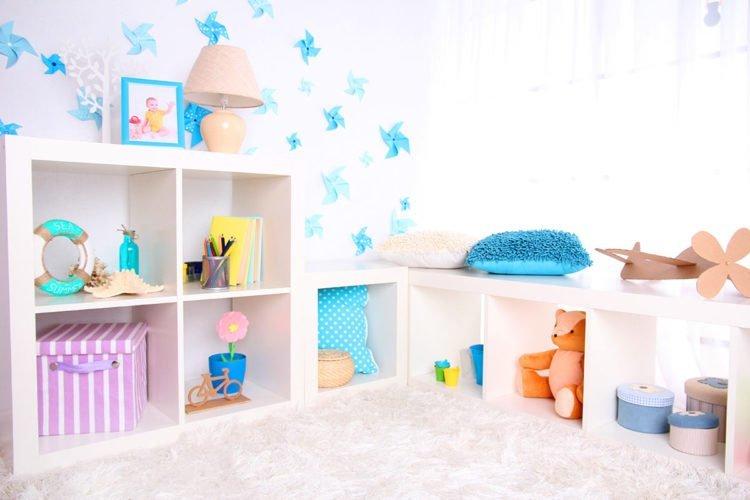 Dekorative Wandgestaltungsideen für das Babyzimmer