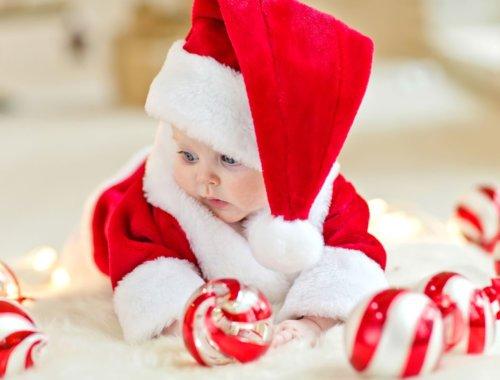 So war unser erstes Weihnachtsfest mit unserem Baby