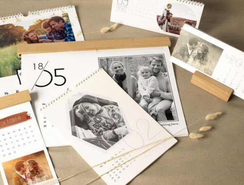 Persönliches Weihnachtsgeschenk: Fotokalender mit eigenen Fotos