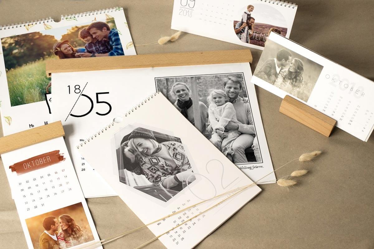 pers nliches weihnachtsgeschenk fotokalender mit eigenen. Black Bedroom Furniture Sets. Home Design Ideas