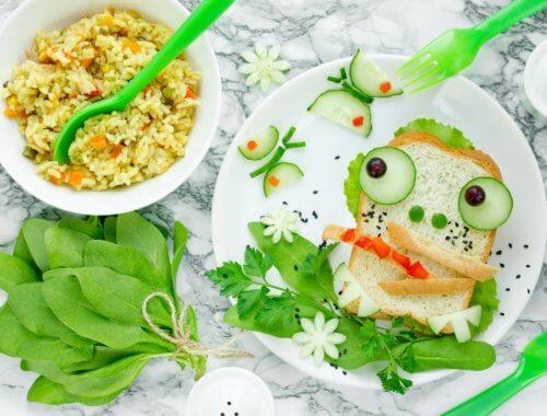 Essen für euer Kind süß & verspielt anrichten