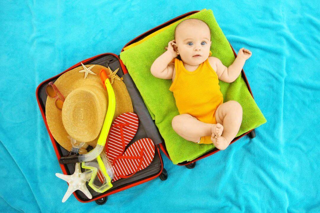 Mit dem Baby in den Urlaub: Dies solltet ihr nicht vergessen!