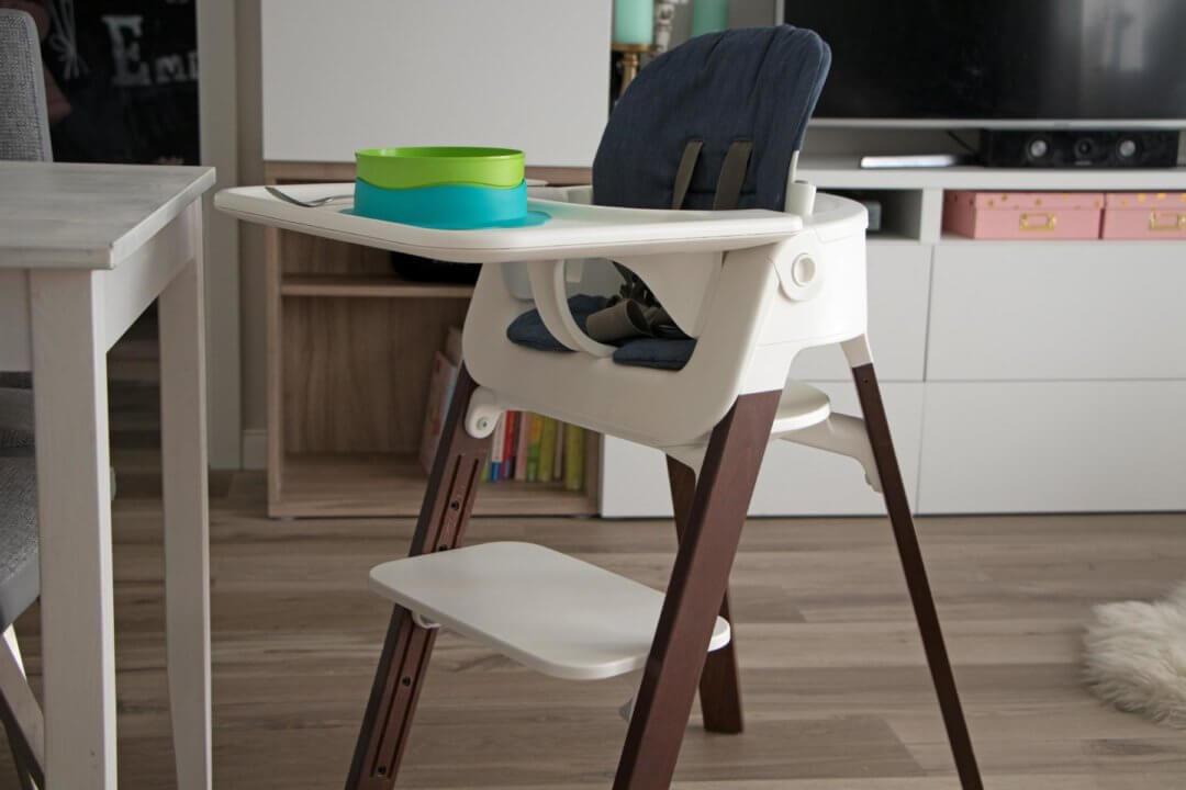 langzeittest stokke steps hochstuhl dies sind unsere. Black Bedroom Furniture Sets. Home Design Ideas