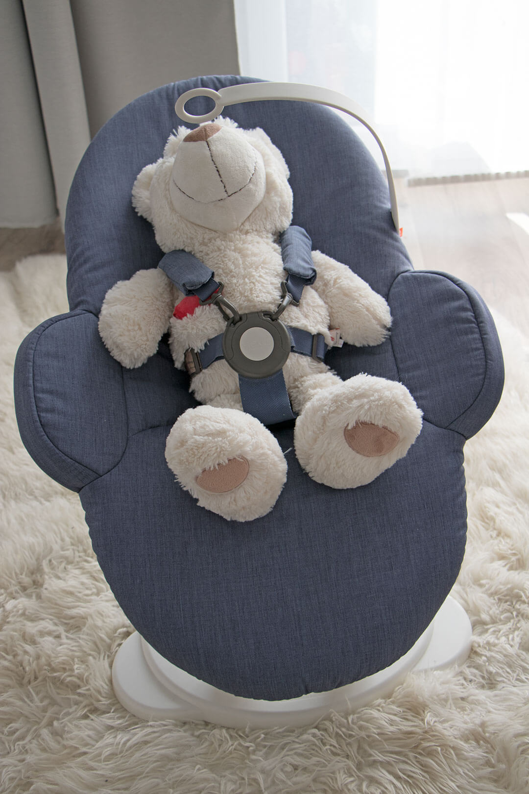 Stokke Steps Babywippe im Test: Aufnahme von oben
