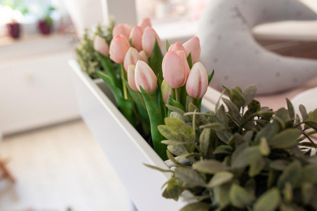 Blumenkasten am Mini Hochbett Silversparkle von Lifetime Kidsrooms
