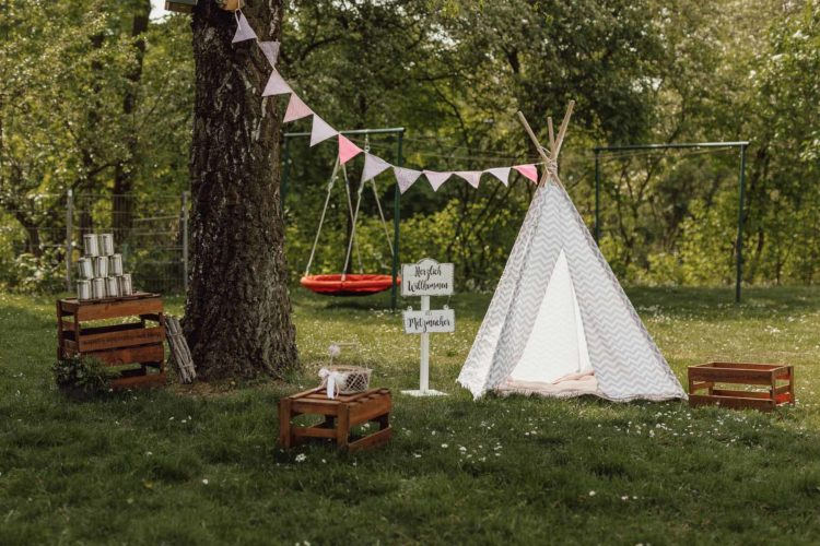 Ideen für einen DIY Outdoor Kindergeburtstag