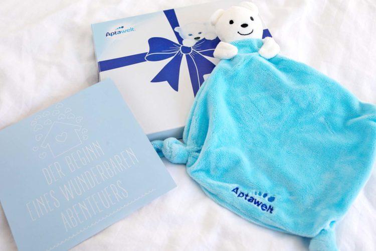 Aptawelt Babybonus: Gratis Willkommensgeschenk für euer Baby