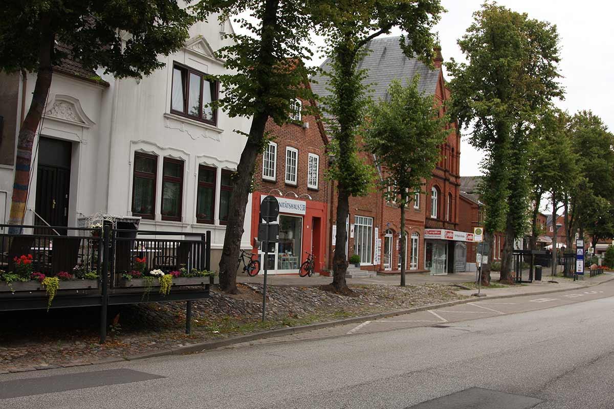 Innenstadt von Burg auf Fehmarn