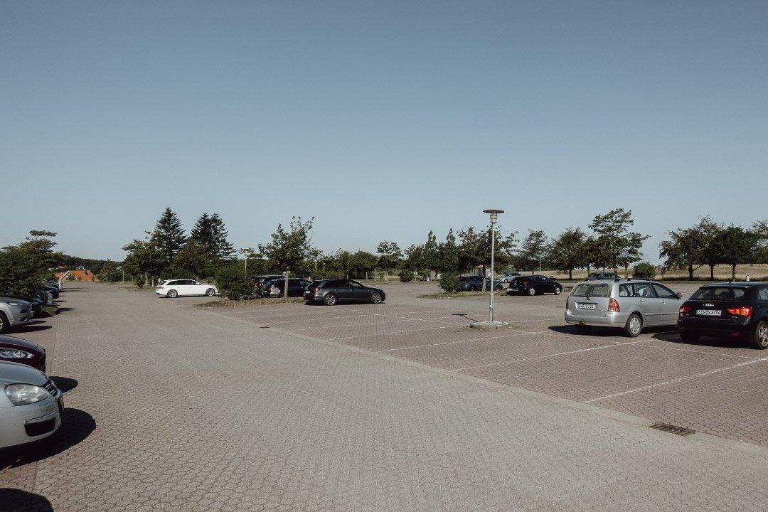 Großparkplatz in Hagen auf Rügen
