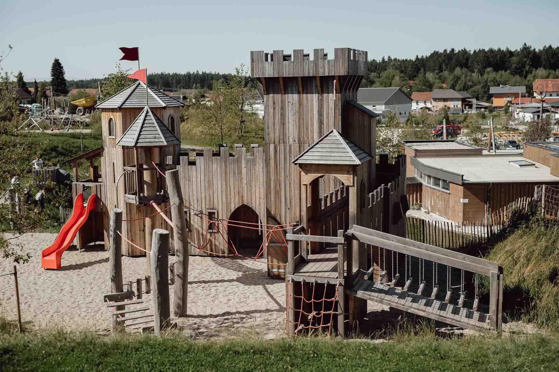 Ritterburg im IKUNA Naturresort