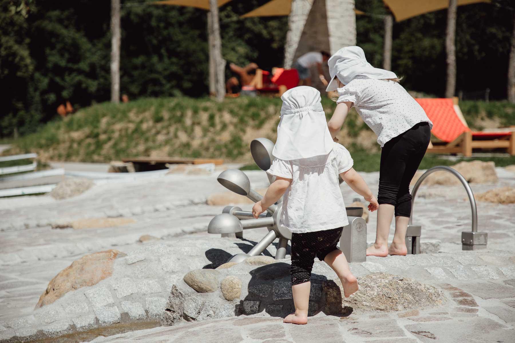 Wasserspielplatz im IKUNA Naturresort