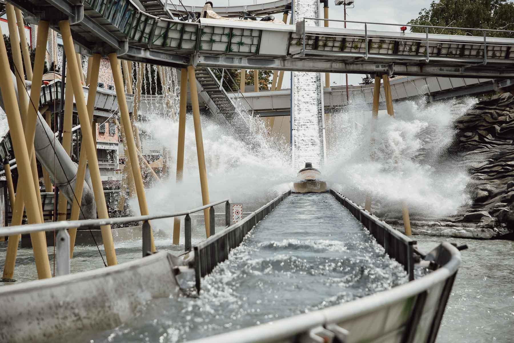 Wasserbahn im Wiener Prater