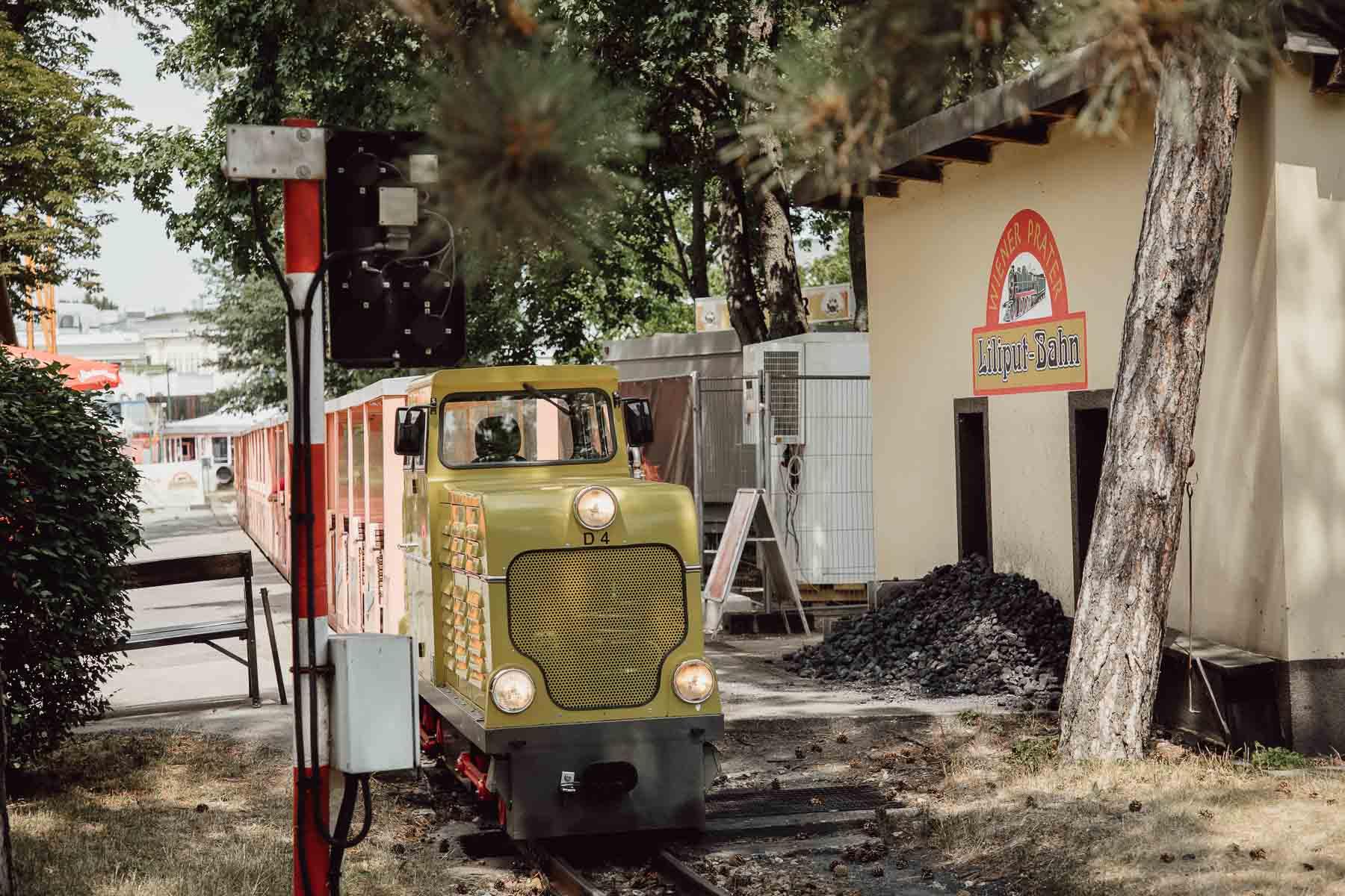 Eisenbahn für Kinder im Wiener Prater
